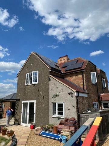 solar panel installers Cambridge